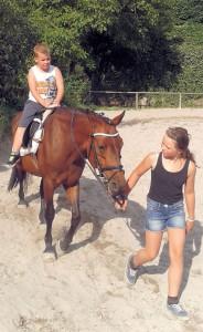 Adrian & Pferd 1