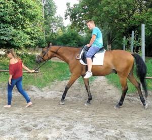 Daniel & Pferd 6