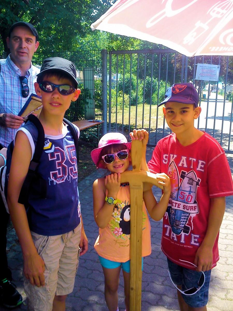 Max, Daniela & Slawa