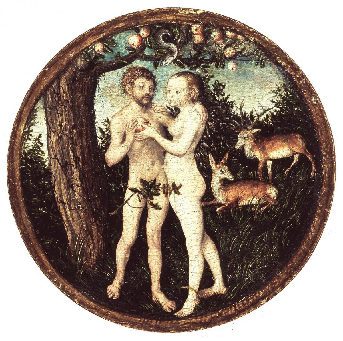 Lucas Cranach d.Ä._Der Sündenfall_1525_G2443