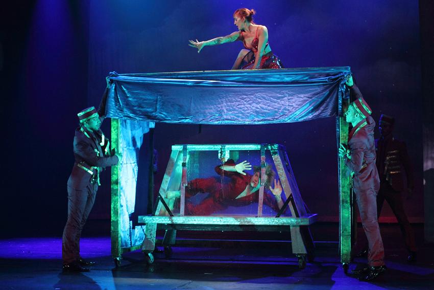 Foto's Hans Klok 'The New Houdini'