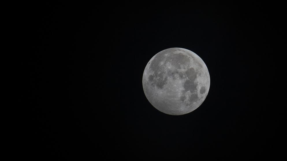 Halbschatten Mondfinsternis