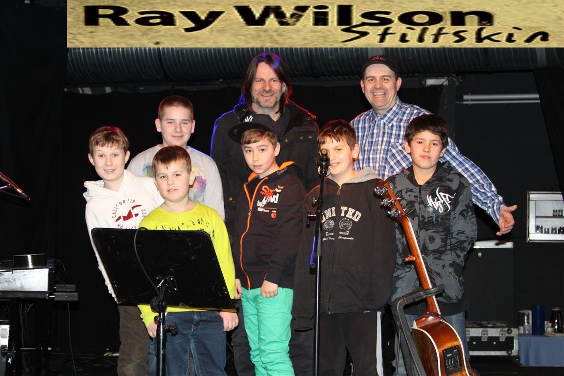 Ray Wilson Gruppenfoto